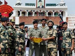 Indian, Pakistan Troops Exchange Eid Greetings, Sweets