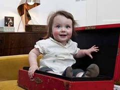 When David Cameron's Daughter Florence Climbed Into His Official Box