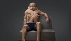 Artist Designs a Lifelike Model of a Car Crash Proof Human Body