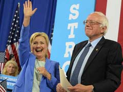 Hillary Clinton Enlists Former Foe Bernie Sanders In Appeal For Youth Votes In US Presidential Race