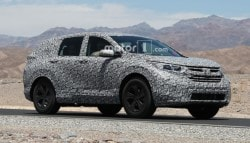 Next Generation Honda CR-V Spotted Testing Again Ahead of Official Debut