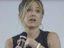 Excerpts From Jennifer Aniston's Emotional Speech at Italian Film Fest