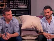 Matt Damon, Jimmy Kimmel Go For Couples Therapy. It's Hilarious