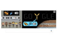 Juno Enters Jupiter's Orbit And Google Puts It On Homepage