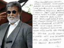 After Kabali's Success, Rajinikanth Writes Fans a Thank You Note. Read it Here