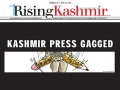 Senior Kashmir Police Officer Removed For Raid On Newspaper Office