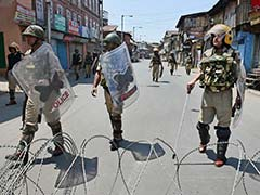 Home Secretary Rajiv Mehrishi Reviews Security Situation In Kashmir