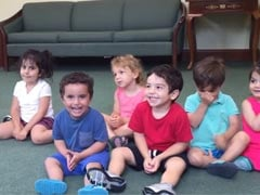 Little Boy Can't Stop Laughing During Music Class and Neither Will You