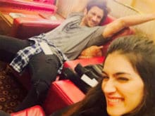 Kriti Sanon, Sushant Singh Rajput Fly to Mauritius to Film Raabta