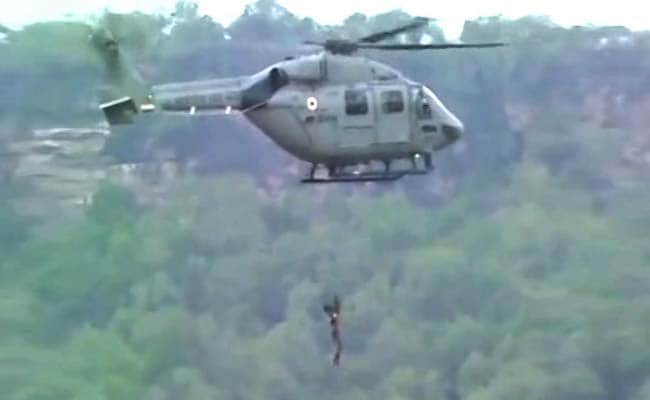 8 feared dead in Madhya Pradesh floods, Army begin rescue operations