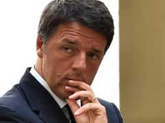 Italy's Prime Minister Matteo Renzi At Presidential Palace To Offer Resignation