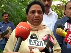 On Gujarat Dalits, Others Target Centre, But Mayawati Lays Into Congress