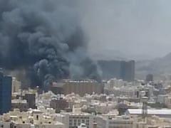 Blaze Engulfs Saudi Mecca Hotel, No Casualties
