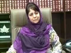 Mehbooba Mufti To Meet Home Minister Rajnath Singh