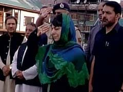 Mehbooba Mufti Seeks People's Support To Safeguard Kashmir From Bloodshed