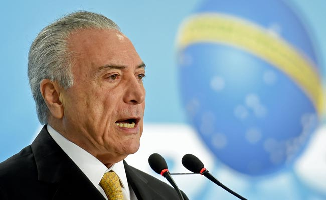 Brazil President Michel Temer Challenges 'Incriminating' Recorded Conversation