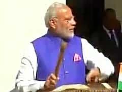 Watch: In Tanzania, Prime Minister Narendra Modi Drums A New Beat