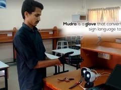 'Smart Glove' For Speech Impaired Developed By B.Tech Students