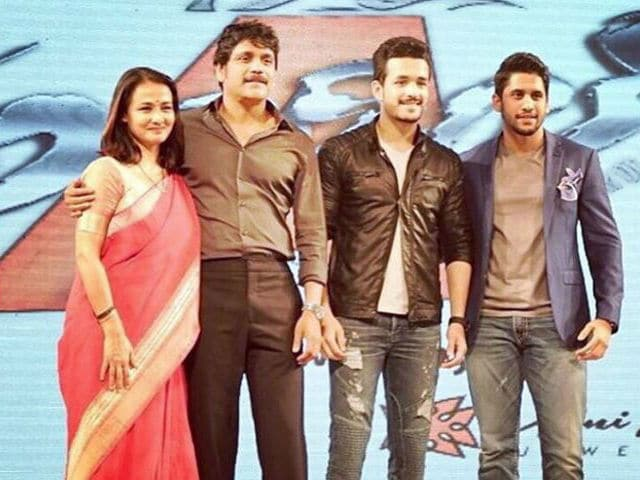 Image result for nagarjuna with family