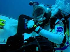 NASA Astronauts Train Underwater To Mimic Mars Mission
