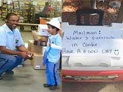 In Warning About Heat, Barack Obama Praises 8-Year-Old Who Left Cold Drinks For Mailman