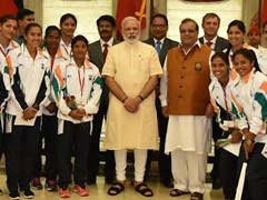 PM Narendra Modi Meets Rio Olympics-Bound Athletes, Wishes Them Luck