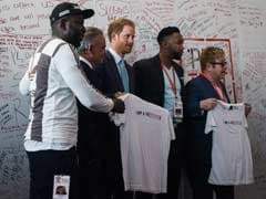 Prince Harry And Elton John Speak Out At AIDS Summit