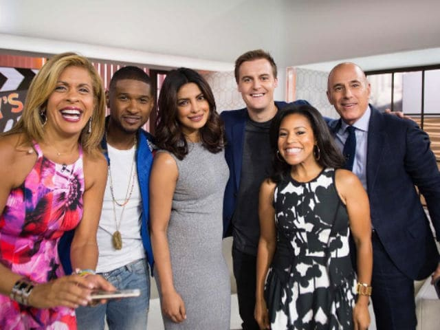 What Priyanka Chopra, Usher Announced on The Today Show