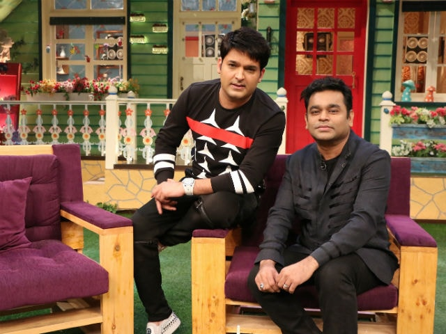 What A R Rahman Did on The Kapil Sharma Show - NDTV Movies