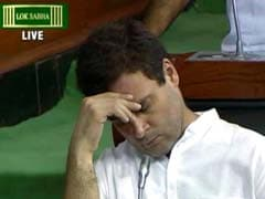 This Is Not Rahul Gandhi Sleeping In Parliament, Says Congress Refuting Mayawati