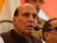 Avoid Using Pellet Guns, Rajnath Singh Tells Security Forces In Kashmir