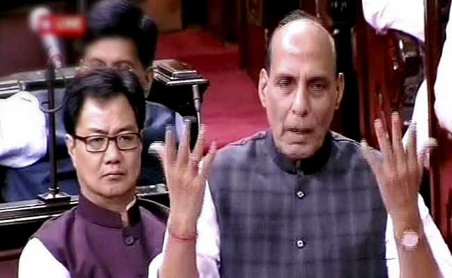 Pak fuelling unrest in Kashmir, Centre working to restore normalcy: Rajnath