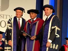 Leading NRI Honoured With Honorary Doctorate