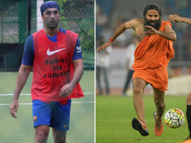 Ranbir's Football Team Needs Baba Ramdev's Skills, Tweets Rishi Kapoor
