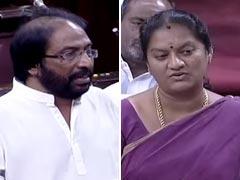 दिल्ली एयरपोर्ट पर तमिलनाडु के दो विरोधी सांसदों के बीच जमकर हुई मारपीट