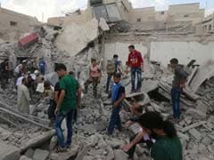 Rocket Attacks Kill At Least 30 In Syria's Aleppo