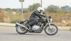 Royal Enfield Continental GT750 Spotted Testing In UK