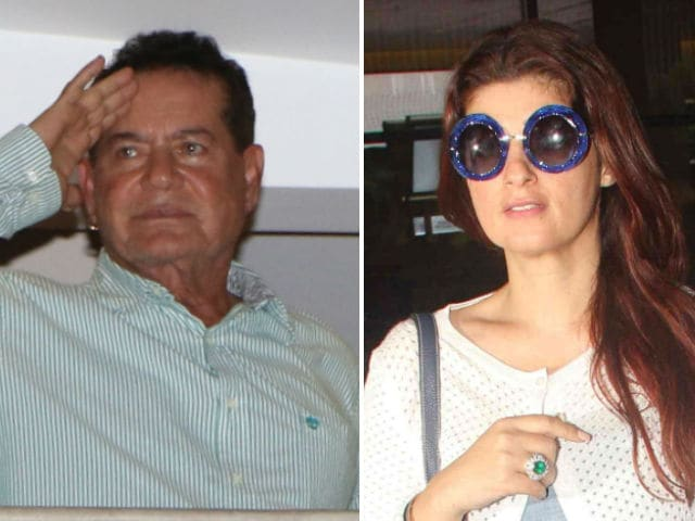 Salim Khan Didn't Get Twinkle's 'Enough About Rajesh Khanna' Memo