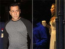 Iulia Vantur, Arpita and Alvira Visit Salman Khan After Acquittal