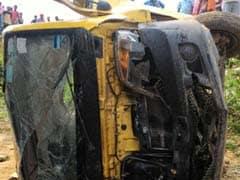 7 Children Killed After School Van Collides With Train In Uttar Pradesh