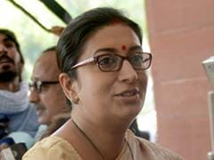With A Year To Go, Smriti Irani Tweets 'Thank You' On Rajya Sabha Tenure