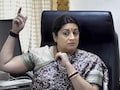 Smriti Irani Fake Degree Row Back? High Court Asks For Records