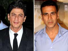 Shah Rukh, Akshay In Forbes List Of World's 100 Highest-Paid Celebrities
