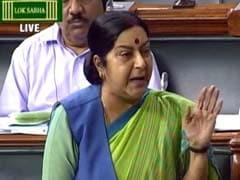 Sushma Swaraj Rebuts Opposition On Mishandling Nuclear Club NSG Bid