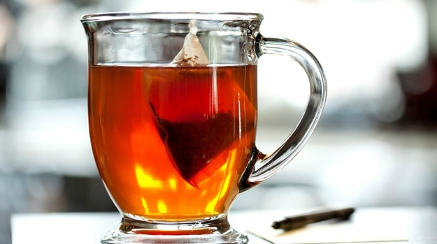 tea bags skin