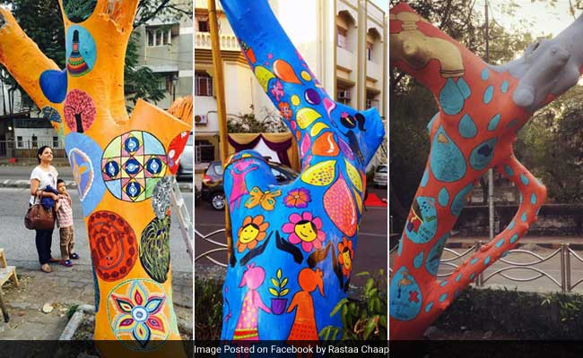 Mumbai, Wondering Who Painted Your Trees So Beautifully? Find Out Here