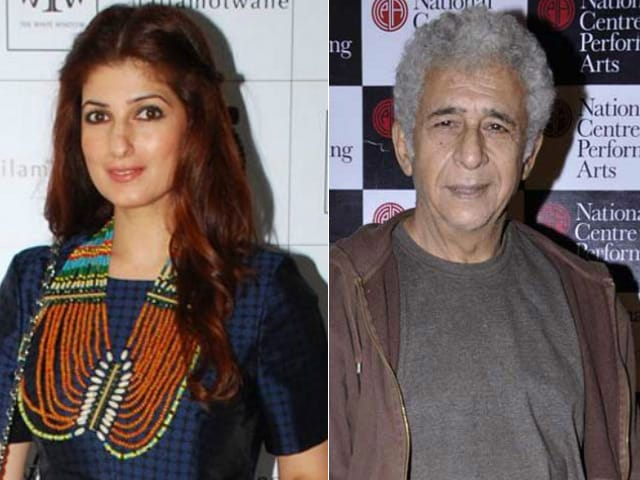 Twinkle Tweets Again About Naseeruddin Shah's Comments on Rajesh Khanna