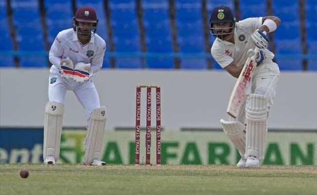 IndvsWI एंटीगा टेस्ट : विराट कोहली ने जड़ा करियर का पहला दोहरा शतक