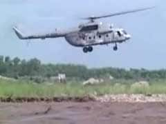 Villagers' Dramatic Rescue From Flooded Yamuna By Air Force Chopper