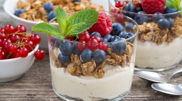 Give a Break to High Calorie Desserts, Try Yogurt